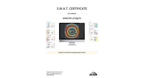 Feature: S.W.A.T. certificate